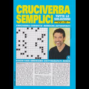 Cruciverba Semplici - n. 94 - bimestrale - giugno - luglio 2020