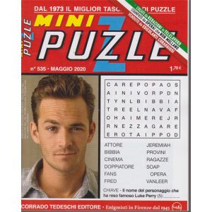 Minipuzzle - n. 535 - mensile - 8/5/2020 -