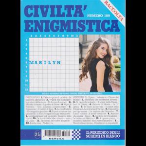 Raccolta Civiltà enigmistica - n. 109 - mensile - maggio 2020 -