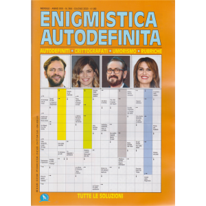 Enigmistica Autodefinita - n. 364 - mensile- giugno 2020