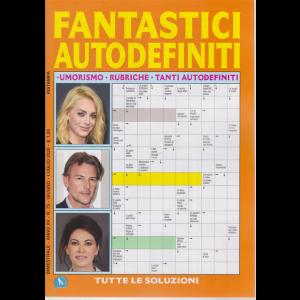 Fantastici  Autodefiniti - n. 75 - bimestrale - giugno - luglio 2020 -