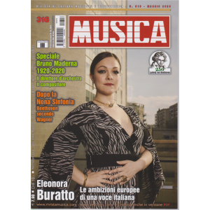Musica - n. 316 - 6maggio 2020 - mensile