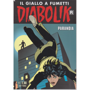 Diabolik Ristampa - n. 707 - Paranoia - mensile - 10/5/2020 -