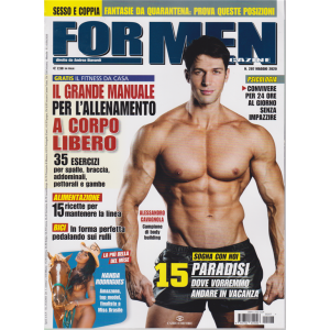For Men Magazine - n. 207 - maggio 2020 - mensile