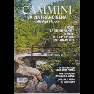 Meridiani Cammini - La via Francigena dalle Alpi a Lucca - trimestrale - n. 5 - maggio 2020 -
