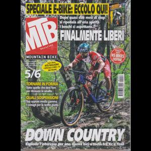 Mtb Magazine - n. 6 -  -mensile  - maggio - giugno 2020 - + La guida delle ebike - 2 riviste