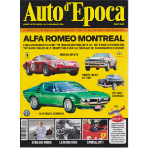 Auto D'epoca - n. 5 - maggio 2020 - mensile