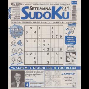 Settimana Sudoku - n. 770 - settimanale - 15 maggio 2020 -