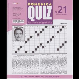 Domenica Quiz - n. 21 - 21 maggio 2020 - settimanale -