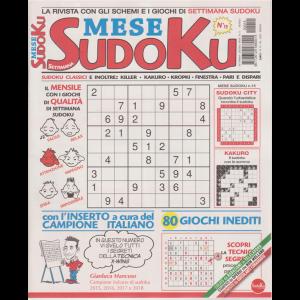 Settimana Sudoku Mese - n. 15 - mensile - maggio 2020