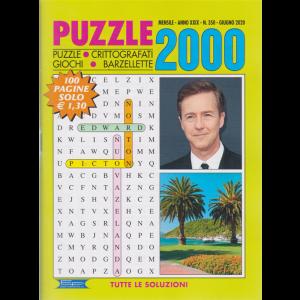Puzzle 2000 - n. 350 - mensile - giugno 2020 - 100 pagine