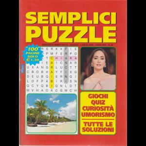 Semplici Puzzle - n. 97 - bimestrale - giugno - luglio 2020 - 100 pagine