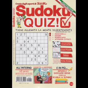 Sudoku Quiz - n. 29 - maggio - giugno 2020 - bimestrale -