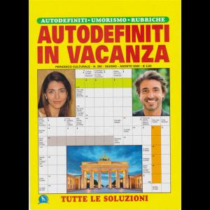 Autodefiniti In vacanza - n. 290 - giugno - agosto 2020 -
