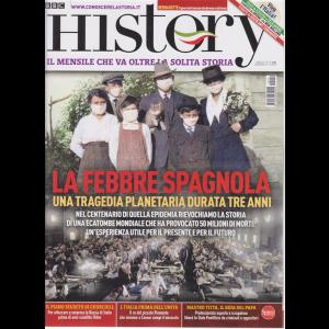 Bbc History - n. 110 - La febbre spagnola - mensile - giugno 2020