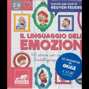 Le iniziative di Oggi - Il linguaggio delle emozioni - n. 20 - settimanale - copertina rigida - 2-6 anni