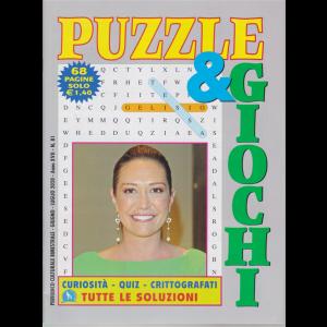 Puzzle  e  Giochi - n. 81 - bimestrale - giugno - luglio 2020 - 68 pagine