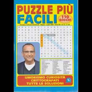 Puzzle piu' facili - n. 72 - bimestrale - giugno - luglio 2020 - 110 giochi