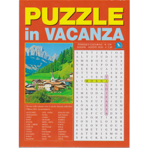 Puzzle In Vacanza - n. 279 - giugno - agosto 2020 -