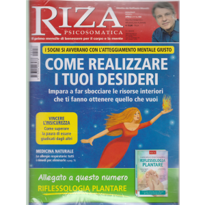 Riza Psicosomatica + il libro Riflessologia plantare - n. 458 - mensile - aprile 2019