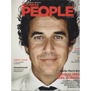 Business People - n. 5 - maggio 2020 - mensile