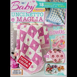 Con le mani - Baby creativa uncinetto e maglia - n. 48 - bimestrale - tutto a colori