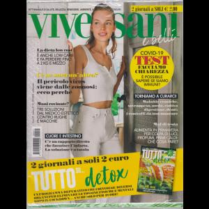 Viversani e  Belli - n. 21 - 15/5/2020 - settimanale + Tutto su.....detox - 2 riviste