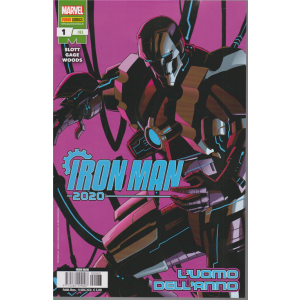 Iron Man - n. 83 - L'uomo dell'anno - mensile - 14 maggio 2020 -