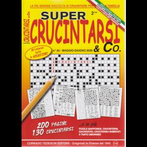 Supercrucintarsi & Co. n. 45 - trimestrale - 15/5/2020 - 200 pagine - 130 crucintarsi