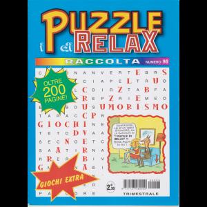 Raccolta i puzzle di relax - trimestrale - n. 98 - maggio - giugno 2020 - oltre 200 pagine!