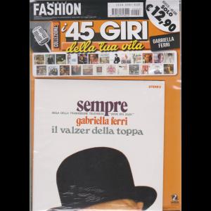 Music Fashion Var.02 - I 45 giri della tua vita - Gabriella Ferri - Sempre - Il valzer della toppa - rivista + 45 giri - 31 marzo 2020 - n. 3 - bimestrale -