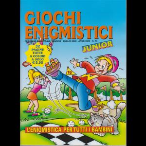 Giochi Enigmistici junior - n. 73 - bimestrale - giugno - luglio 2020 - 52 pagine tutte a colori