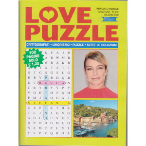 Love Puzzle - n. 342 - mensile - giugno 2020 - 100 pagine