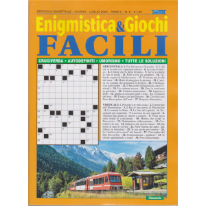 Enigmistica & Giochi facili n. 6 - bimestrale - giugno - luglio 2020