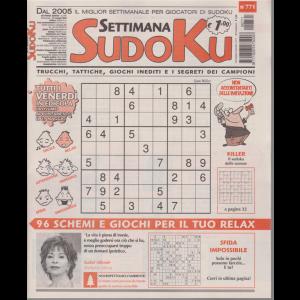 Settimana Sudoku - n. 771 - settimanale - 22 maggio 2020 -