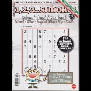 1,2,3 Sudoku - n. 177 - mensile- 20/5/2020
