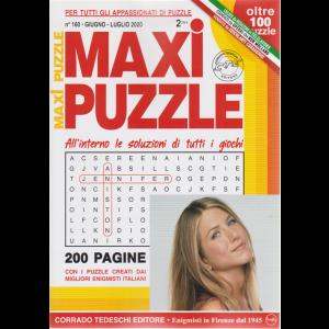 Maxi Puzzle - n. 160 - giugno - luglio 2020 - trimestrale - 200 pagine