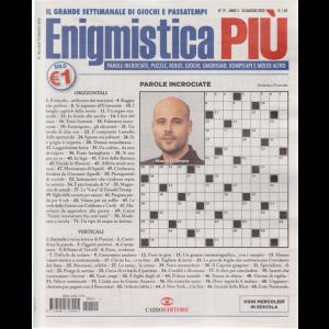 Enigmistica più - n. 21 - 26 maggio 2020 - settimanale