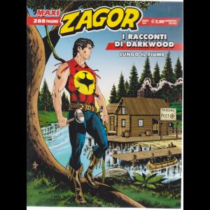 Maxi Zagor - I racconti di Darkwood - Lungo il fiume - n. 39 - maggio 2020 - quadrimestrale - 288 pagine