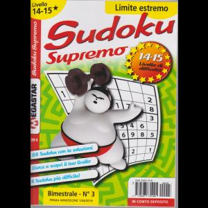 Sudoku Supremo - Liv.14-15 - limite estremo - n. 3 - bimestrale - 1/4/2019