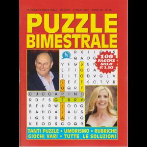 Puzzle  Bimestrale - n. 68 - giugno - luglio 2020 - 100 pagine