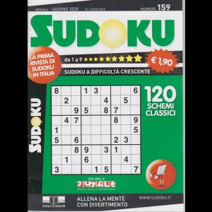 Sudoku - n. 159 - mensile - giugno 2020 - 120 schemi classici