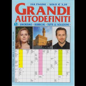 Grandi Autodefiniti - n. 56 - trimestrale - giugno - agosto 2020 - 244 pagine