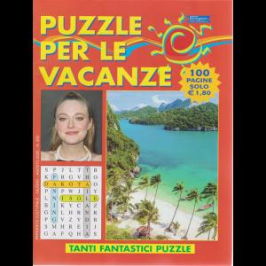 Puzzle per le vacanze - n. 350 - giugno - agosto 2020 - 100 pagine