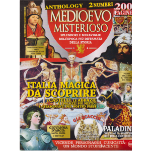 Medioevo Misterioso Anthology n. 3 - bimestrale - giugno - luglio 2020 - 200 pagine - 2 numeri