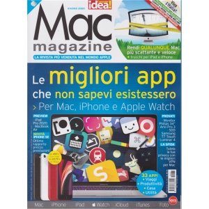 Mac Magazine - n. 137 - mensile - giugno 2020