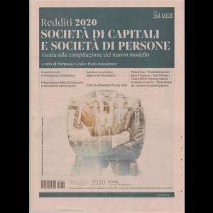 Redditi 2020 - Società di capitali e società di persone - n. 2 - maggio 2020 - bimestrale