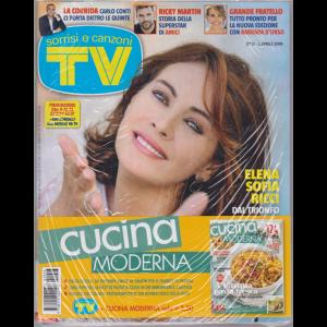 Sorrisi e canzoni tv + Cucina moderna - n. 13 - 2 aprile 2019 - settimanale - 2 riviste