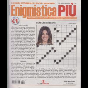 Enigmistica Piu'- n. 22 - 2 giugno 2020 - settimanale