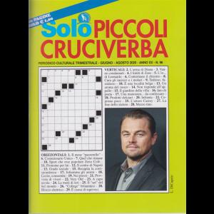 Solo Piccoli Cruciverba - n. 96 - trimestrale - giugno - agosto 2020 - 68 pagine